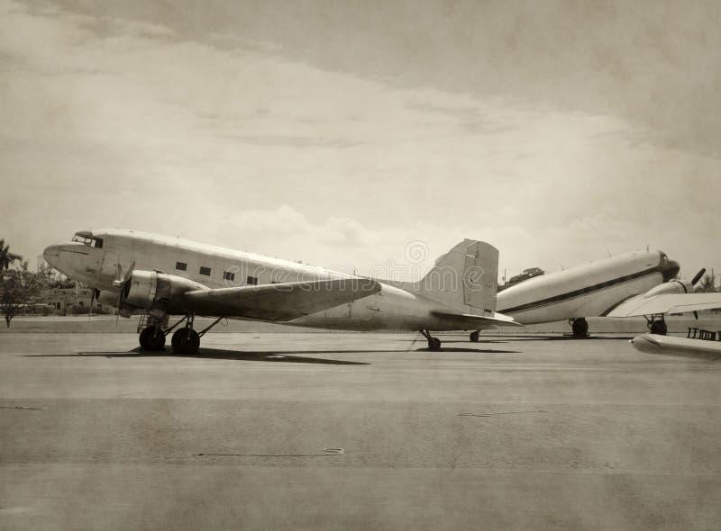 Aviões velhos imagens de stock royalty free