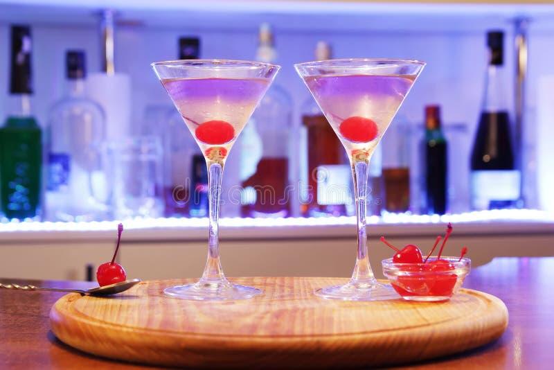 Aviação do cocktail do álcool imagem de stock royalty free