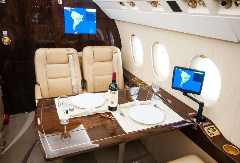 Aviação e jatos executivos da turbina do elevado desempenho dos aviões fotos de stock royalty free