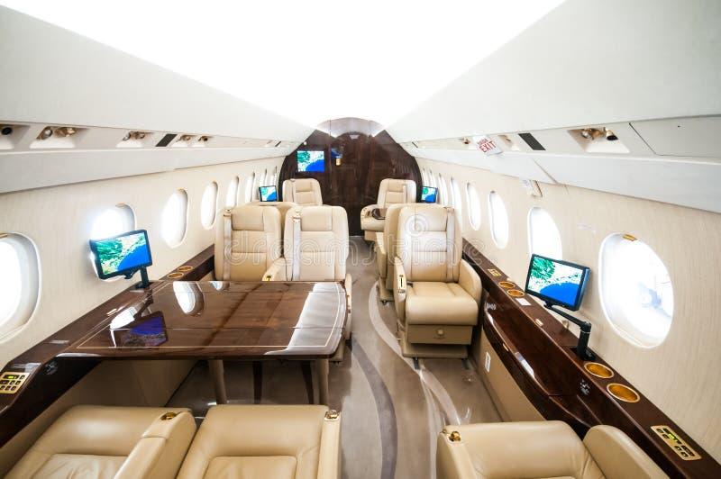 Aviação e jatos executivos da turbina do elevado desempenho dos aviões fotografia de stock