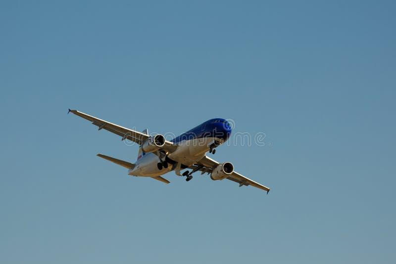 Avia show royaltyfri bild