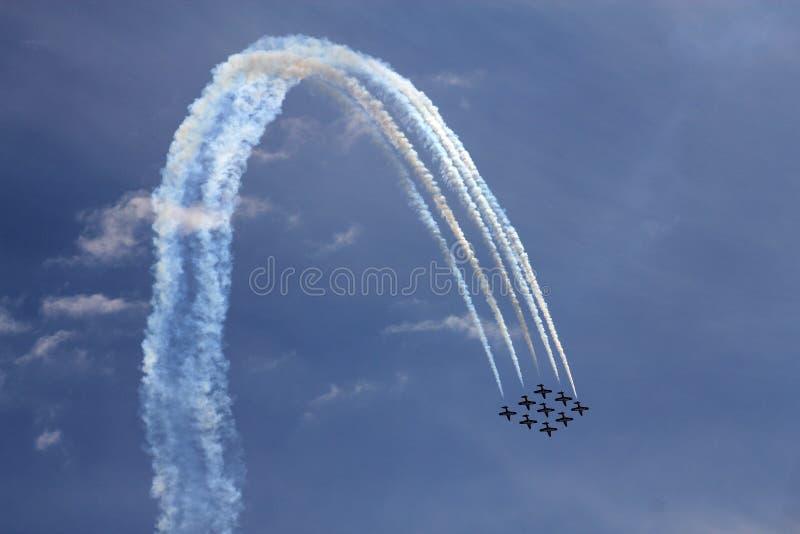 Avia Show royalty free stock photography