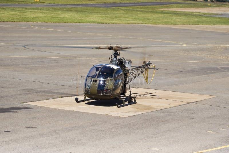 Aviación SE-3130 Alouette II del Sud foto de archivo libre de regalías