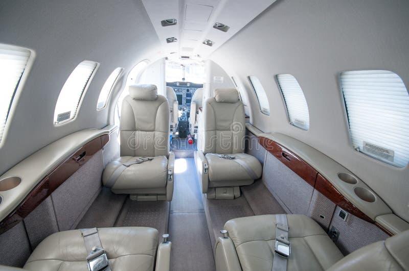 Aviación y jets ejecutivos de la turbina del alto rendimiento de los aeroplanos fotos de archivo libres de regalías