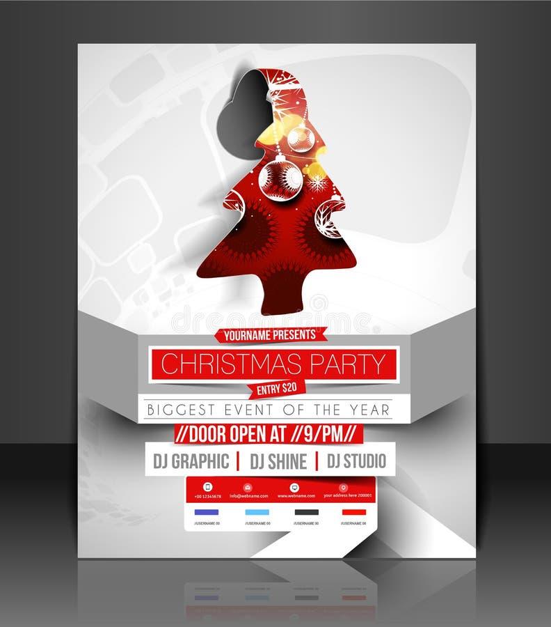 Aviador de la fiesta de Navidad libre illustration