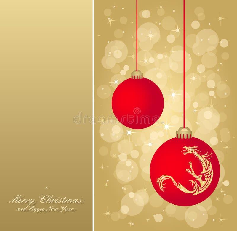 Aviador De La Navidad Del Oro Imágenes de archivo libres de regalías