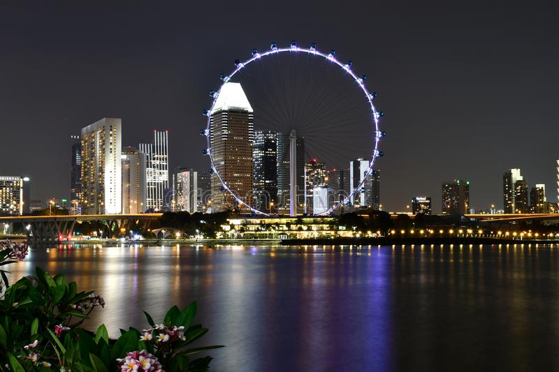 Aviador 2018 de Singapur foto de archivo