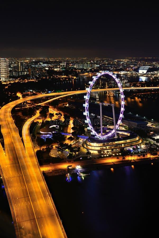 Download Aviador de Singapur foto de archivo editorial. Imagen de atracción - 42435448