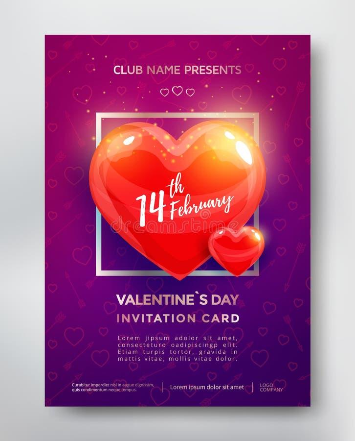 Aviador del día de tarjetas del día de San Valentín libre illustration