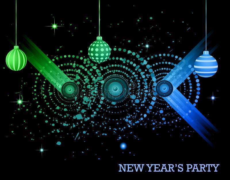 Aviador del partido de la Feliz Año Nuevo 2016 libre illustration