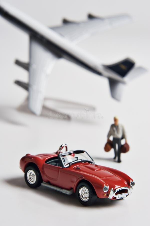 Aviador frecuente imagen de archivo libre de regalías