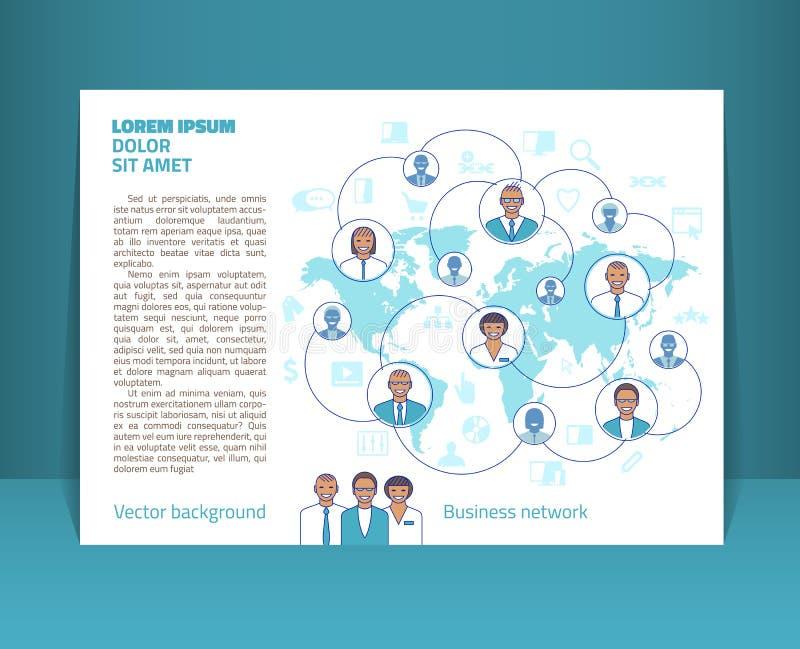 Aviador, prospecto, disposición del folleto Plantilla Editable A5 del diseño ilustración del vector