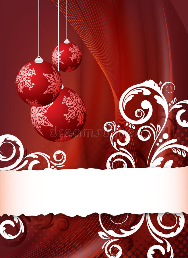 Aviador rojo de la Navidad libre illustration