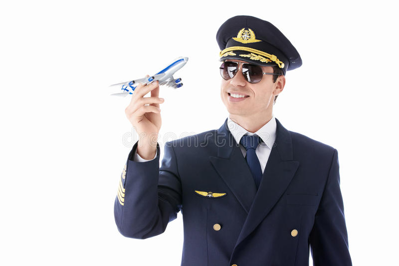Aviateur images stock