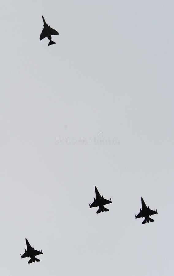 Aviateurs de guerre de Vietnam photographie stock libre de droits