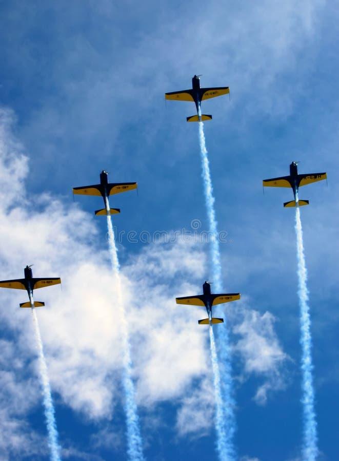 aviatic выставка стоковое изображение