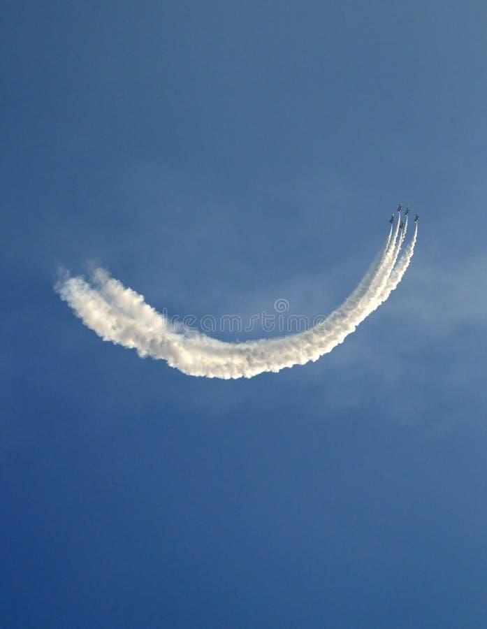 aviatic nivåshow fotografering för bildbyråer