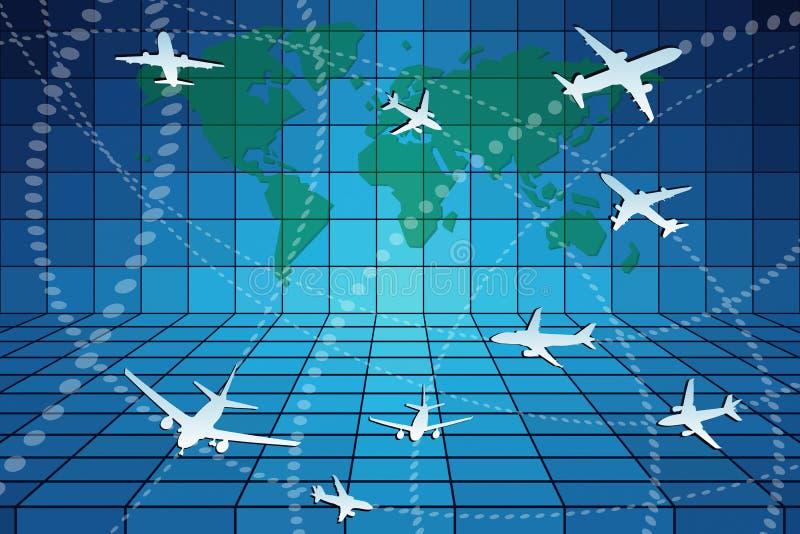 Aviation stock illustration