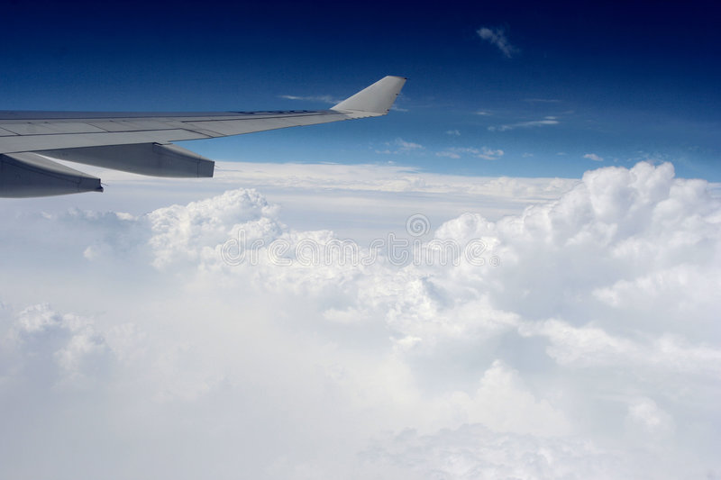 Aviation. In the blue sky,Photo by Toneimage of China, a photographer live in Beijing stock images