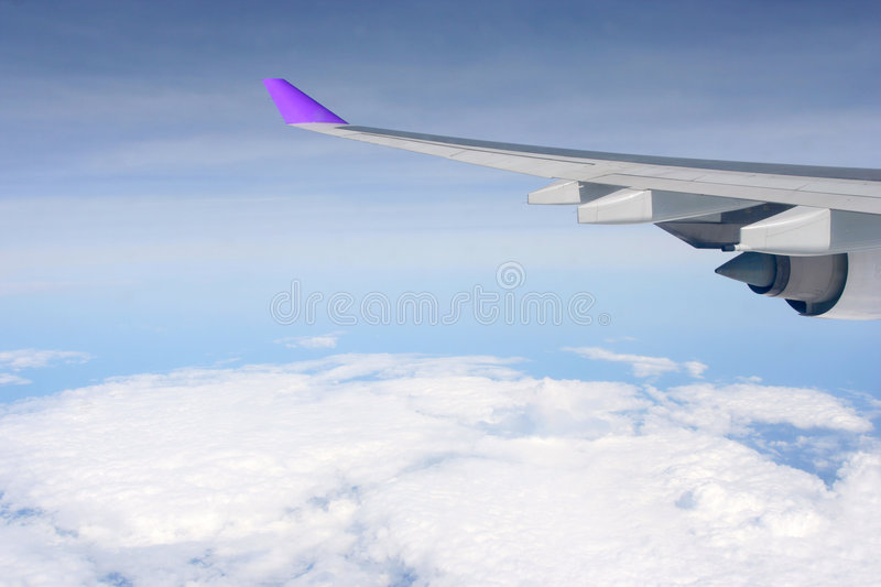 Aviation. In the blue sky,Photo by Toneimage of China, a photographer live in Beijing royalty free stock photography