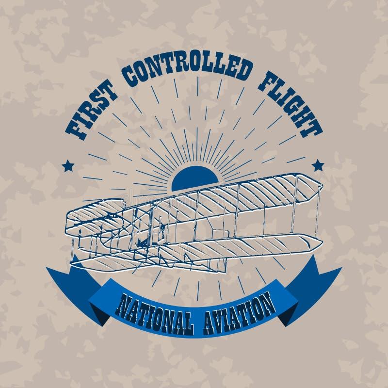 Aviation_emblem απεικόνιση αποθεμάτων