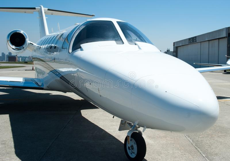 Aviation and executive airplanes high performance turbine jets. Aviation executive jets transportation around the world civil transportation, inside de jets stock images