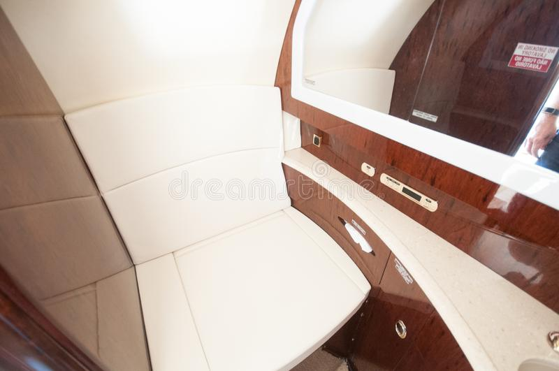 Aviation and executive airplanes high performance turbine jets. Aviation executive jets transportation around the world civil transportation, inside de jets stock photos
