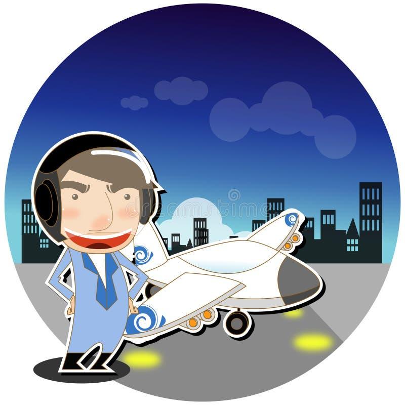 Download Aviator stock vector. Illustration of illustration, construction - 11744212
