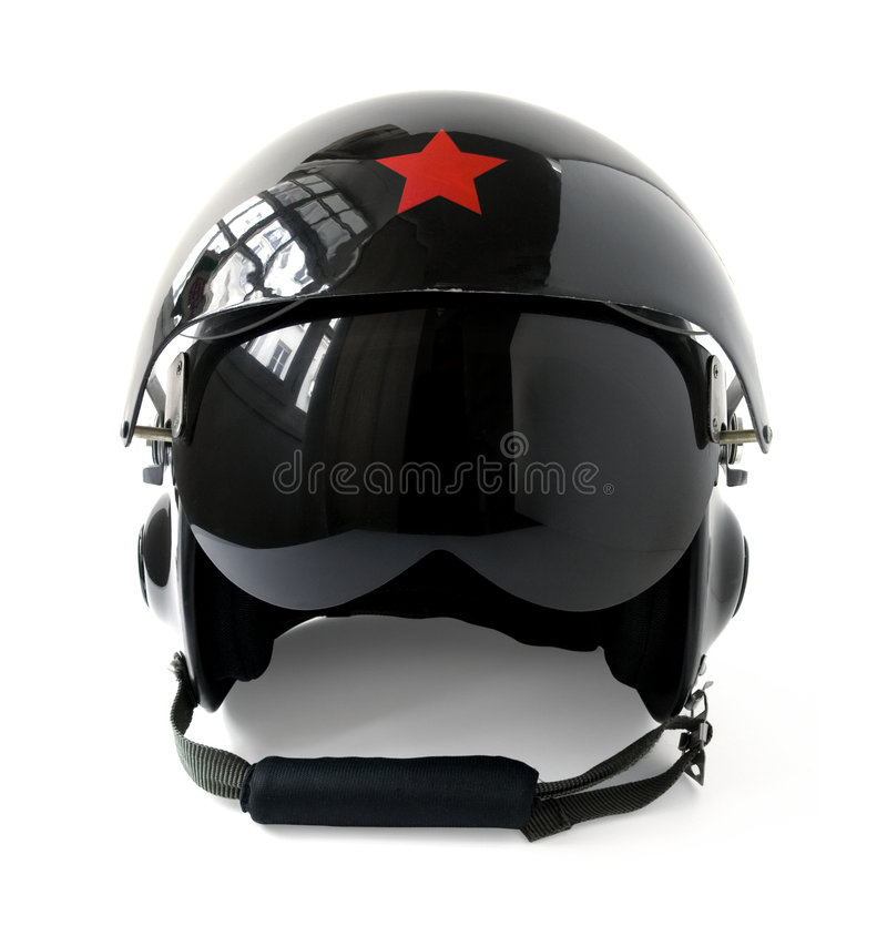 Aviator Helmet royalty free stock images