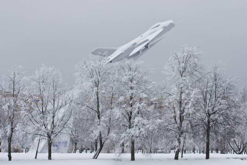aviatorov park obrazy royalty free