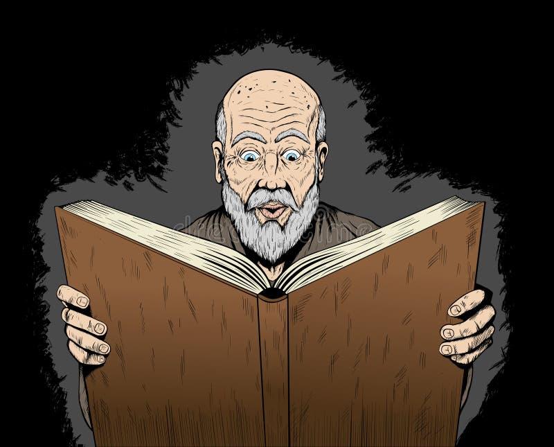 Download Avid reader stock vector. Illustration of studying, learning - 19235364