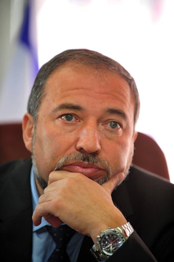 Avigdor Lieberman image stock