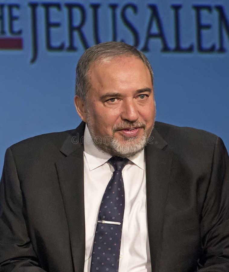 Avigdor Lieberman arkivbild