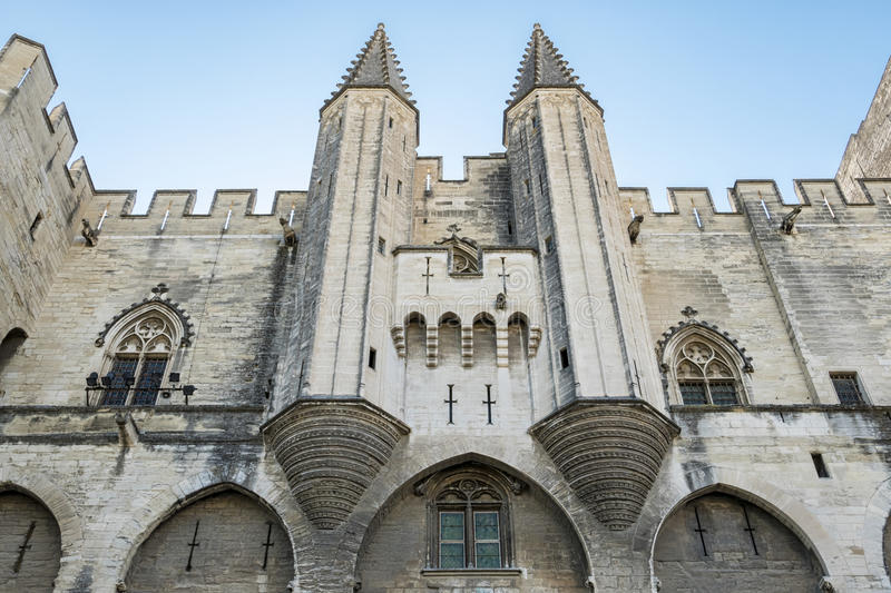 Download Avignon (Frances) image stock. Image du historique, papes - 76083123
