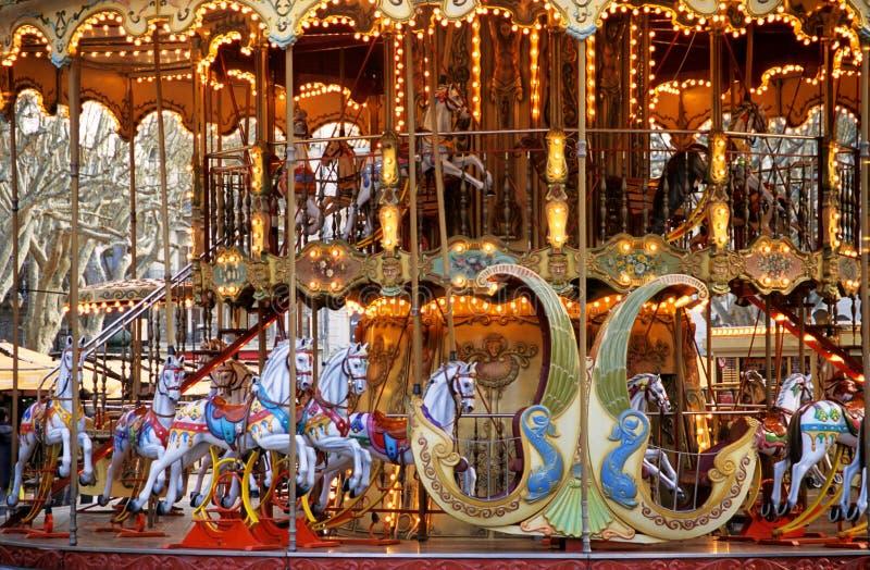avignon karusell fotografering för bildbyråer