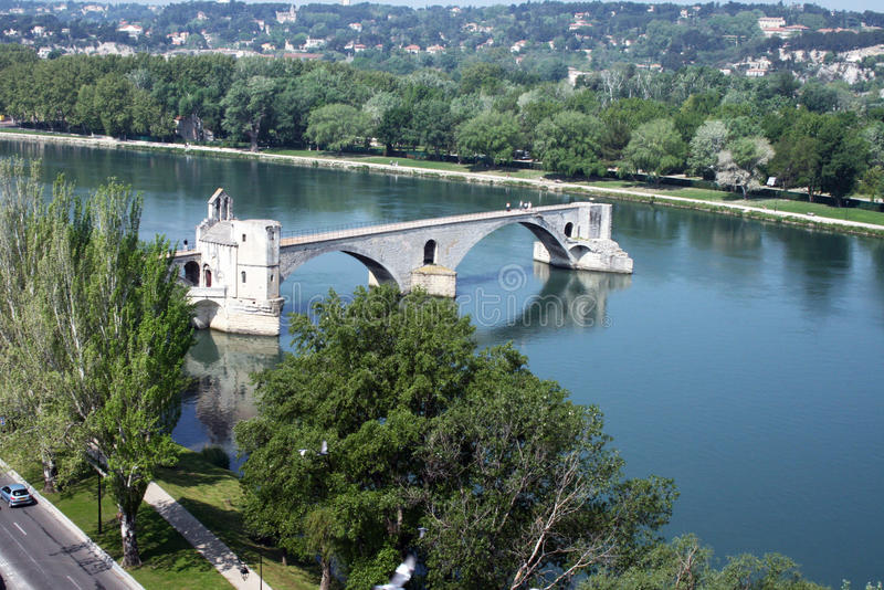 Download Avignon's bridge stock photo. Image of trip, tourism - 20259120