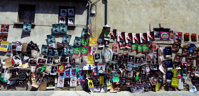 Avignon-Theaterfestivalposter lizenzfreie stockfotografie