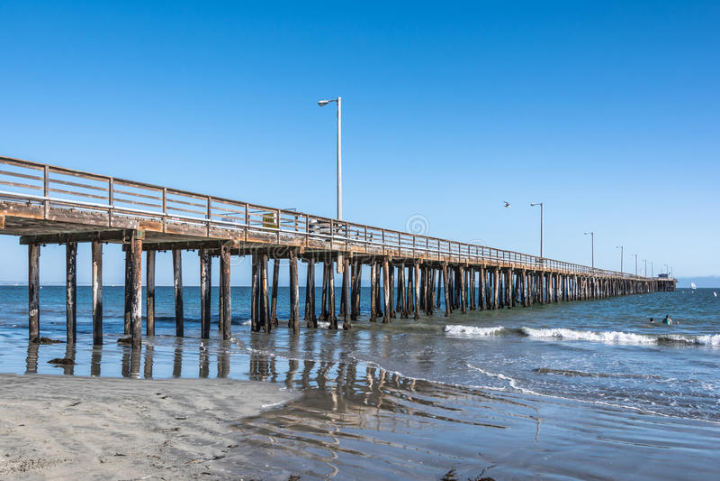 Avila αποβάθρα παραλιών, Καλιφόρνια στοκ φωτογραφίες με δικαίωμα ελεύθερης χρήσης