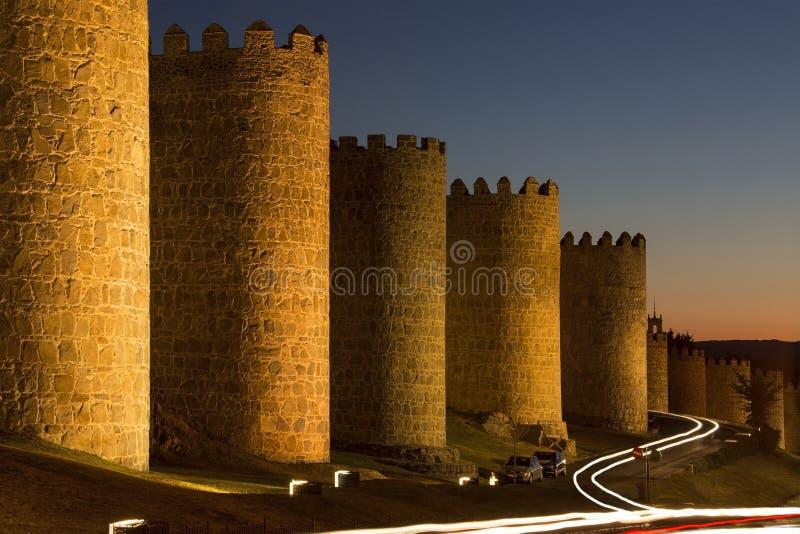 Avila - Ισπανία στοκ φωτογραφίες