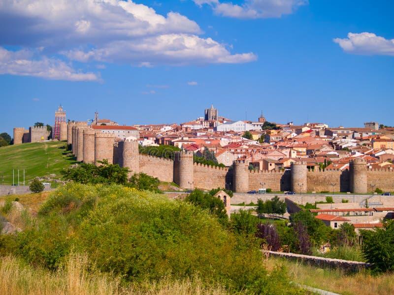 Avila antigo, Spain foto de stock royalty free