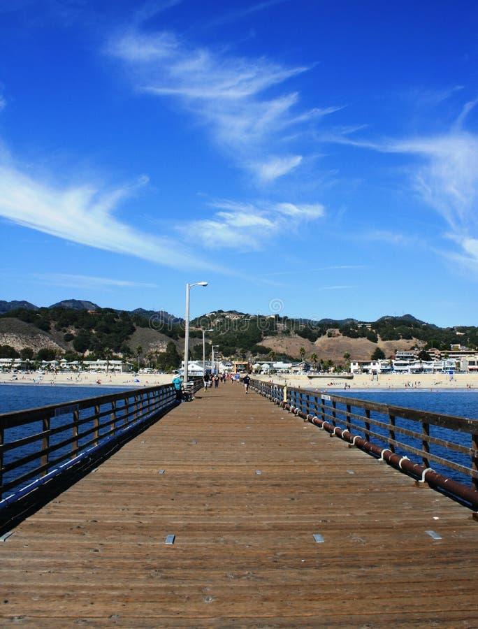 Avila Beach Pier stock photo