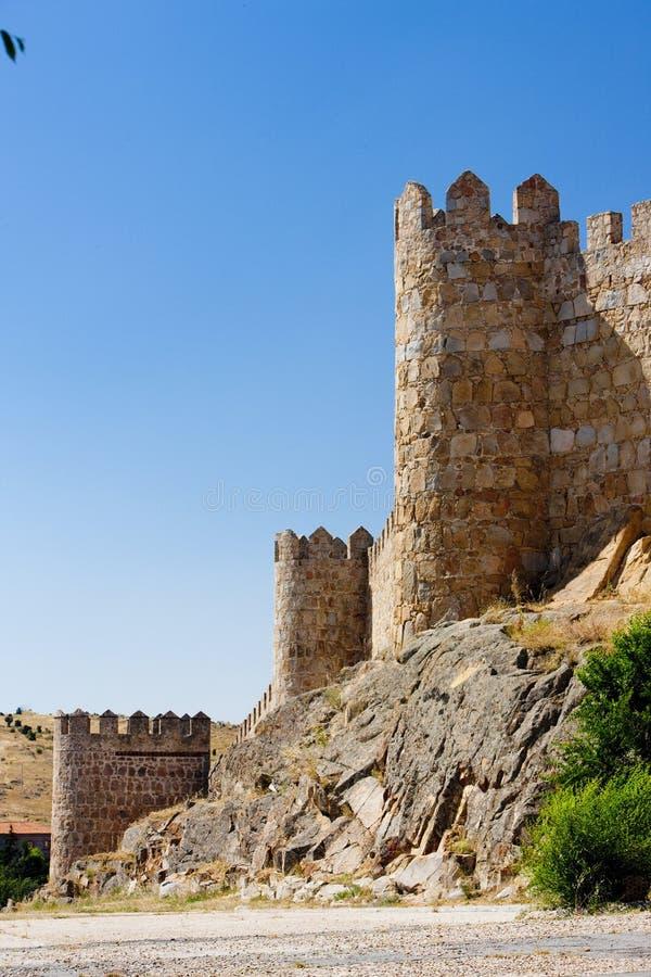 avila befästning royaltyfri foto
