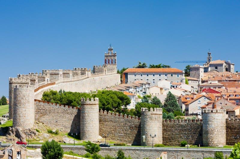 Avila, Castile i Leon, Hiszpania fotografia stock