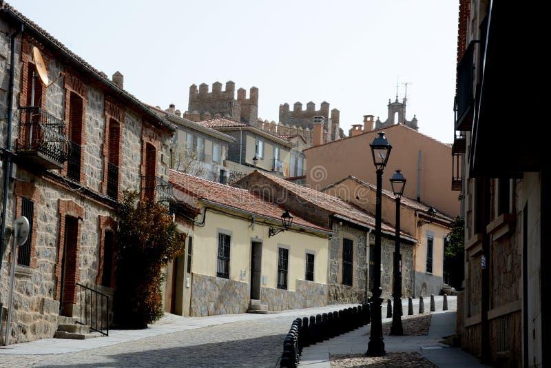 Avila, Castilla Leon, Hiszpania zdjęcie stock