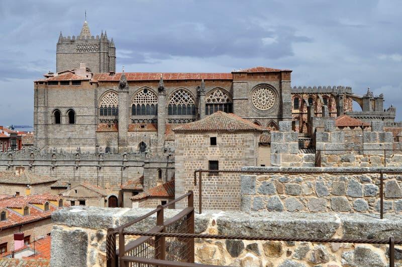 Avila Fortress Royalty Free Stock Image