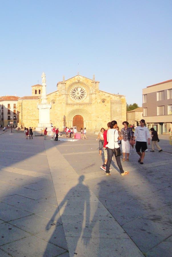 Avila Kerk, Spanje royalty-vrije stock foto