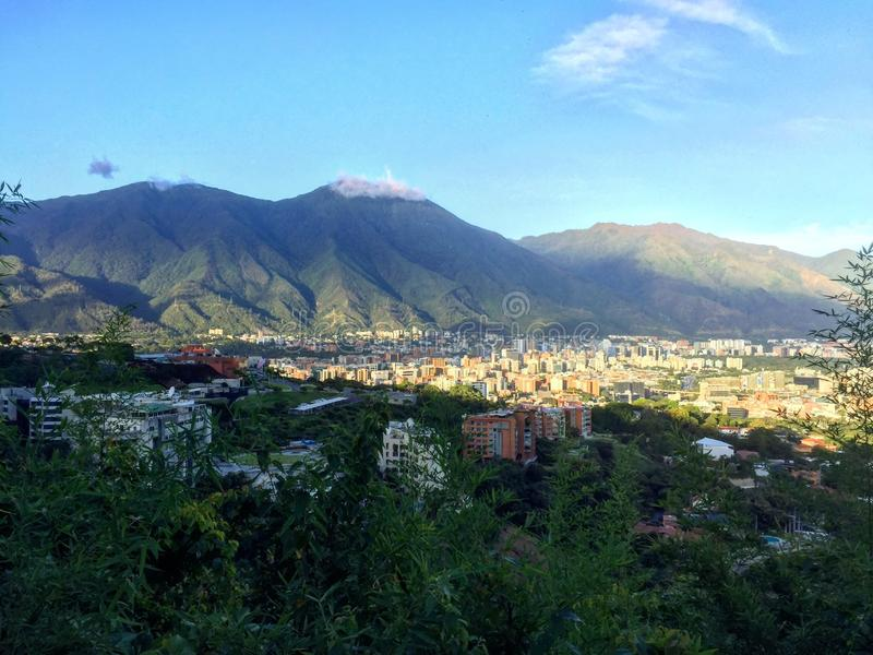 Avila National Park in Caracas. Beautiful view of El Ávila National Park located in Caracas, Venezuela stock photo