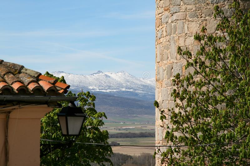Avila panorama stock images