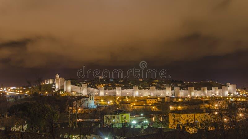 Avila , Spain. Walled city of Avila (Town of Stones and Saints), Spain stock photos