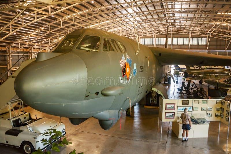Avion à l'intérieur de Darwin Military Museum photos stock